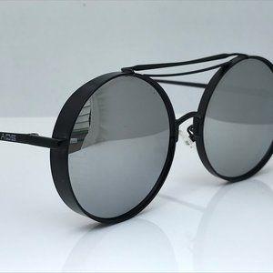 AquaSwiss Sunglasses Women Daisy 56[]16 Round Mirr